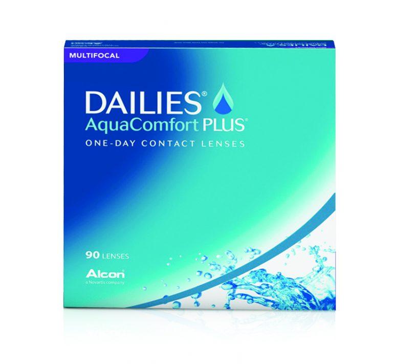 Dailies Aqua Comrt Plus Multifocal 90 pack