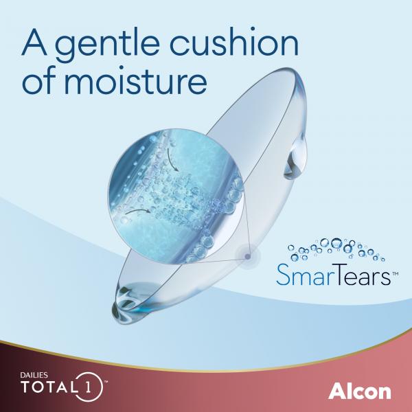 Dailies Total1 - a gentle cushion of moisture