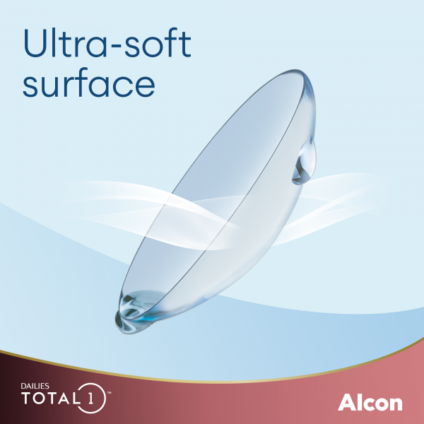 Dailies Total1 ultra soft surface