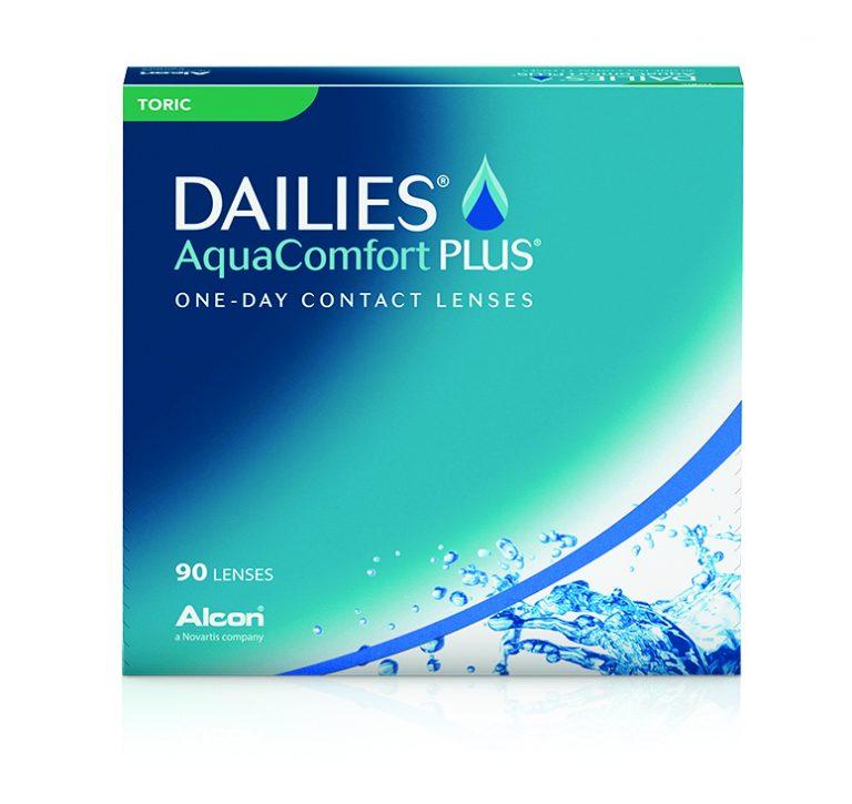 Dailies Aqua Comfort Plus Toric 90 pack